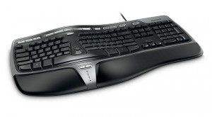 MS ergonomic keyboard